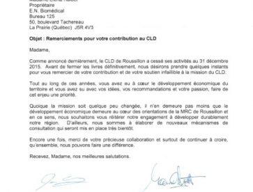 MRC - Contribution au CLD